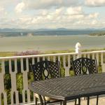 terrasse, vue sur le fleuve