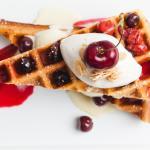 Cherry Waffle Sammie