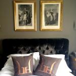 Bett im Deluxe Zimmer