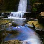 Wepre waterfall. April 2015