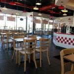 Dining Room, Five Guys, Vernon Hills, IL