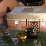 mint tea at night