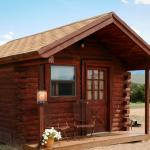 Our Rustic Cabin is an economical and fun way to spend a few nights!