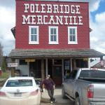 Aussie Angela at wonderful Polebridge Mercantile store