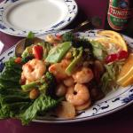 Rainbow Shrimp and Scallops