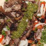 Pesto Lamb Kebab