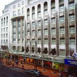 Hotel exterior from Birmingham New Street