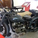 BMW con Sidecar y Ametralladora