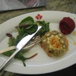 Ziegenkäse-Tarte