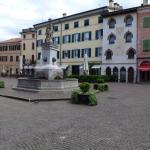 The charming center: Piazza Diacono