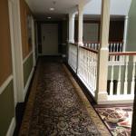 Snapshot of the hallway, very charming