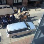 One of the many carriage rides