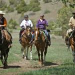 Horseback Riding to the Lower Ranch