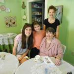 Grandma with grands~