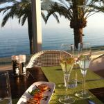 Complimentary cava and delicious tapas at La Terrazza restaurant
