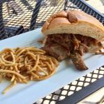 Pulled Pork with Thai Noodles
