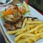 BBQ Chicken Piri