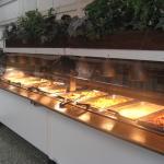 Much buffet offerings
