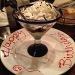 Thank you, Dan, for my birthday treat from LongHorn.