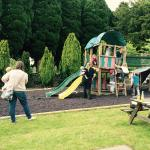 New play area has been created great for the kids