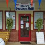 Front Entrance to Marys Southern Grill