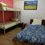 ruang female dorm isi 3 bed