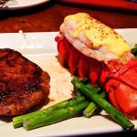 Special steak and Lobster
