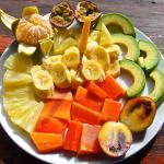 Tropical fruit salad to start your day