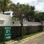 Exterior of Casa Veintuno, Sosúa, Dominican Republic