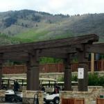 Golf Office Club area, Park City Golf Club, Park City, Utah