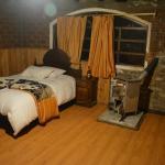 View from the door - room had two queen beds