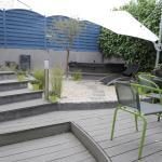 L'espace extérieur : jaccuzzi, terrasse