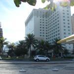 Frente del Hotel desde la Playa