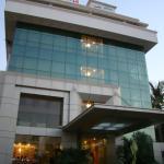 Main Entrance & hotel building