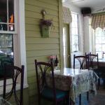 Ivy House Restaurant Porch Dining Room