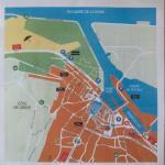 carte qui vous indique le parking 4€ la journée