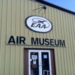 Various exhibits at EAA Museum
