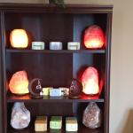 Salt lamps and local gifts available