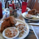 Southern fried chicken!