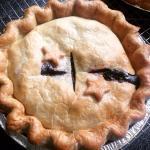 Blueberry pie!