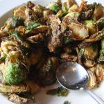 Fried Brussels Sprouts my new surprise dish