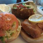 seafood burger