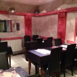 Les deux salles de restaurant