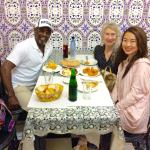 With Janet in tangier