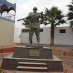 Monumento al soldado desconocido.