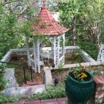 Gazebo near Fountain
