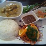 My curry lunch special - YUM!