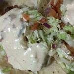 Tasty dip. Tuesday fish taco