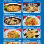 alcuni piatti dal menu