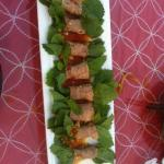 Beef with mint leaves - excellent!